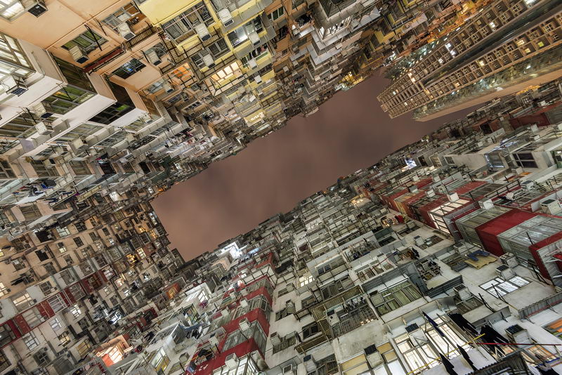 Yick Cheong Building Head On Photo Festival